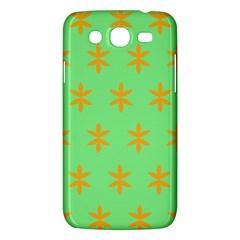 Flower Floral Different Colours Green Orange Samsung Galaxy Mega 5 8 I9152 Hardshell Case  by Alisyart
