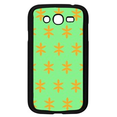 Flower Floral Different Colours Green Orange Samsung Galaxy Grand Duos I9082 Case (black) by Alisyart
