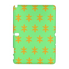 Flower Floral Different Colours Green Orange Galaxy Note 1 by Alisyart