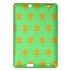 Flower Floral Different Colours Green Orange Amazon Kindle Fire Hd (2013) Hardshell Case by Alisyart