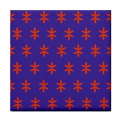 Flower Floral Different Colours Purple Orange Face Towel by Alisyart