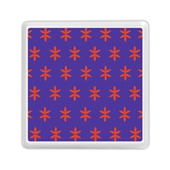 Flower Floral Different Colours Purple Orange Memory Card Reader (square)  by Alisyart