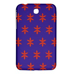 Flower Floral Different Colours Purple Orange Samsung Galaxy Tab 3 (7 ) P3200 Hardshell Case  by Alisyart
