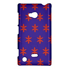 Flower Floral Different Colours Purple Orange Nokia Lumia 720 by Alisyart