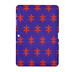 Flower Floral Different Colours Purple Orange Samsung Galaxy Tab 2 (10 1 ) P5100 Hardshell Case  by Alisyart