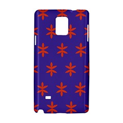 Flower Floral Different Colours Purple Orange Samsung Galaxy Note 4 Hardshell Case by Alisyart