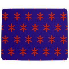 Flower Floral Different Colours Purple Orange Jigsaw Puzzle Photo Stand (rectangular) by Alisyart