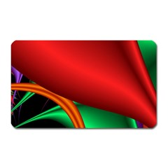 Fractal Construction Magnet (rectangular) by Simbadda