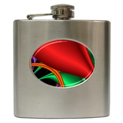 Fractal Construction Hip Flask (6 Oz) by Simbadda