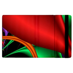 Fractal Construction Apple Ipad 2 Flip Case by Simbadda