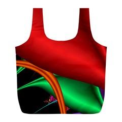 Fractal Construction Full Print Recycle Bags (l)  by Simbadda