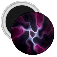 Colorful Fractal Background 3  Magnets by Simbadda