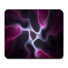 Colorful Fractal Background Large Mousepads by Simbadda