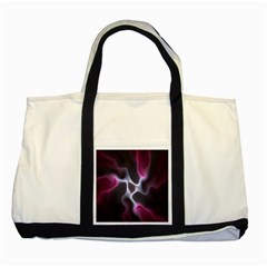 Colorful Fractal Background Two Tone Tote Bag