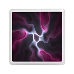 Colorful Fractal Background Memory Card Reader (square)  by Simbadda