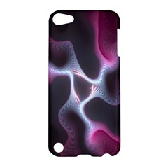 Colorful Fractal Background Apple Ipod Touch 5 Hardshell Case by Simbadda