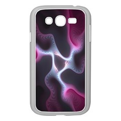 Colorful Fractal Background Samsung Galaxy Grand DUOS I9082 Case (White) by Simbadda