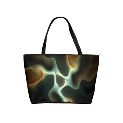 Colorful Fractal Background Shoulder Handbags by Simbadda