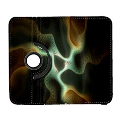 Colorful Fractal Background Galaxy S3 (flip/folio) by Simbadda