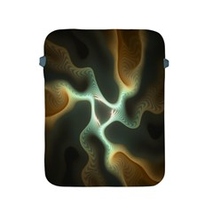 Colorful Fractal Background Apple Ipad 2/3/4 Protective Soft Cases by Simbadda