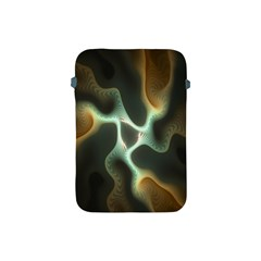 Colorful Fractal Background Apple Ipad Mini Protective Soft Cases by Simbadda