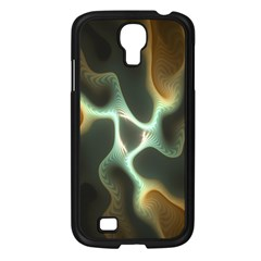 Colorful Fractal Background Samsung Galaxy S4 I9500/ I9505 Case (black) by Simbadda