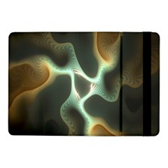 Colorful Fractal Background Samsung Galaxy Tab Pro 10 1  Flip Case by Simbadda