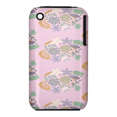 Floral Flower Rose Sunflower Star Leaf Pink Green Blue Iphone 3s/3gs by Alisyart