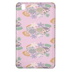 Floral Flower Rose Sunflower Star Leaf Pink Green Blue Samsung Galaxy Tab Pro 8 4 Hardshell Case by Alisyart