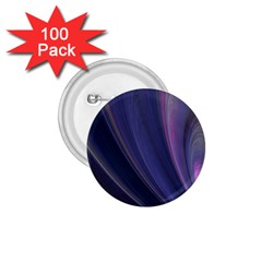 Purple Fractal 1 75  Buttons (100 Pack)  by Simbadda