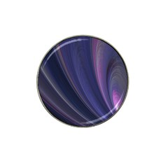 Purple Fractal Hat Clip Ball Marker (4 Pack) by Simbadda