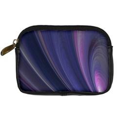 Purple Fractal Digital Camera Cases by Simbadda