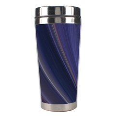 Purple Fractal Stainless Steel Travel Tumblers by Simbadda