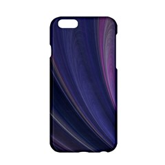 Purple Fractal Apple Iphone 6/6s Hardshell Case by Simbadda