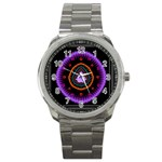 Hypocloid Sport Metal Watch Front