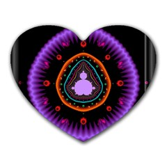 Hypocloid Heart Mousepads by Simbadda