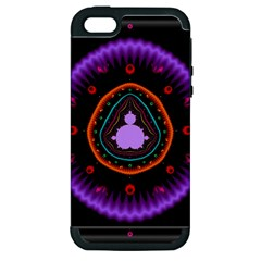 Hypocloid Apple Iphone 5 Hardshell Case (pc+silicone) by Simbadda