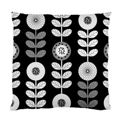 Floral Pattern Seamless Background Standard Cushion Case (one Side) by Simbadda