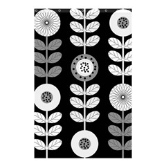 Floral Pattern Seamless Background Shower Curtain 48  x 72  (Small)  by Simbadda