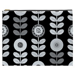 Floral Pattern Seamless Background Cosmetic Bag (xxxl)  by Simbadda