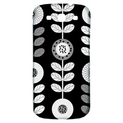 Floral Pattern Seamless Background Samsung Galaxy S3 S Iii Classic Hardshell Back Case by Simbadda
