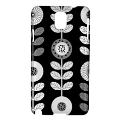 Floral Pattern Seamless Background Samsung Galaxy Note 3 N9005 Hardshell Case by Simbadda