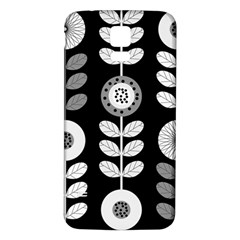 Floral Pattern Seamless Background Samsung Galaxy S5 Back Case (white) by Simbadda