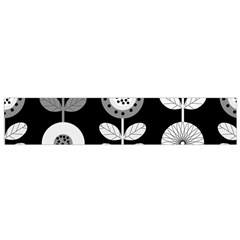 Floral Pattern Seamless Background Flano Scarf (Small)