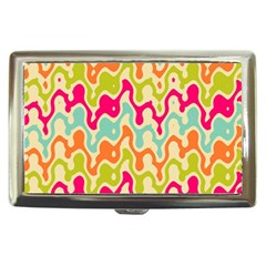 Abstract Pattern Colorful Wallpaper Cigarette Money Cases by Simbadda