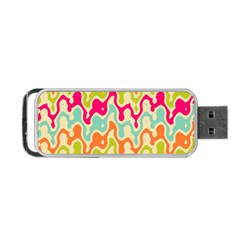 Abstract Pattern Colorful Wallpaper Portable Usb Flash (two Sides) by Simbadda