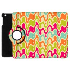 Abstract Pattern Colorful Wallpaper Apple Ipad Mini Flip 360 Case by Simbadda