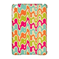 Abstract Pattern Colorful Wallpaper Apple Ipad Mini Hardshell Case (compatible With Smart Cover) by Simbadda