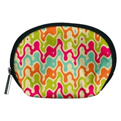 Abstract Pattern Colorful Wallpaper Accessory Pouches (medium)  by Simbadda