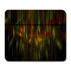 Fractal Rain Large Mousepads by Simbadda